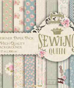 Sewing Queen Paper Pack