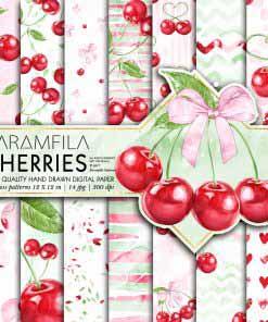 Cherries Paper