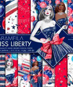 Miss Liberty Patterns