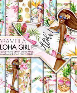 Aloha Girl Papers