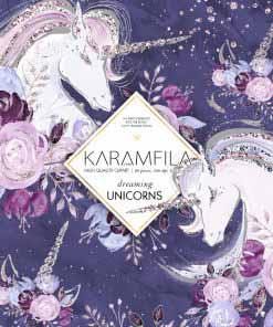 Dreaming Unicorns Clipart