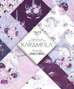 Dreaming Unicorns Paper Pack