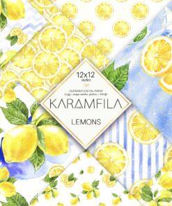 Lemons Patterns