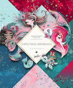 Christmas Mermaids Basic Papers