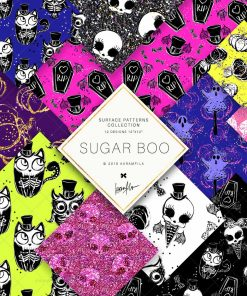 Sugar Boo Doodle Patterns