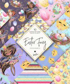 Easter Fairy Papers
