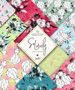 So Lovely Doodle Papers