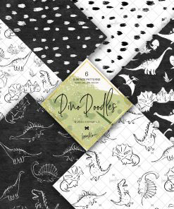 Dino Doodle Papers